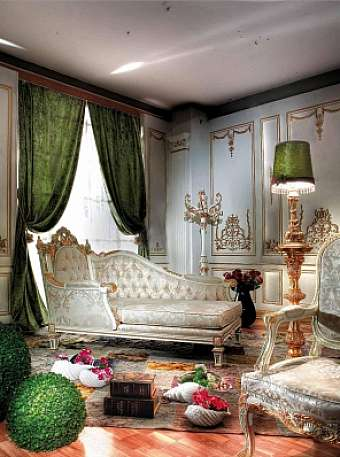 Кушетка ASNAGHI INTERIORS Gold collection GD5311