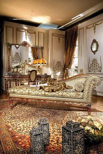 Кушетка ASNAGHI INTERIORS Gold collection GD4508